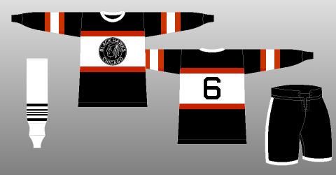 timeless design f1d44 96843 Chicago Blackhawks 1934-35 - The (unofficial) NHL Uniform ...