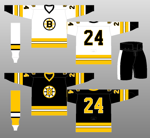 Boston Bruins 1976-77 - The (unofficial) NHL Uniform Database