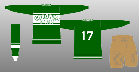 finest selection a4713 19bd7 HbD Breakdown: Maple Leafs' St Pats Jerseys | Hockey By Design