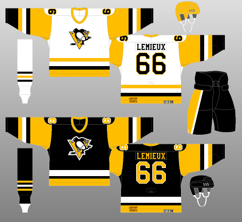 new product a95ea be0ce Worst to First Jerseys: Pittsburgh Penguins (Redux) | Hockey ...