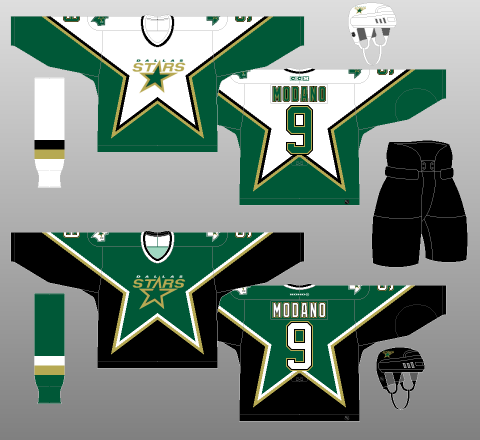 competitive price 1141b 92d03 Worst to First Jerseys: Dallas Stars | Hockey By Design